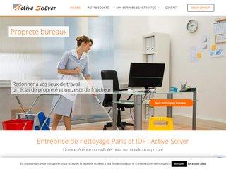 Active Solver société de nettoyage à PARIS