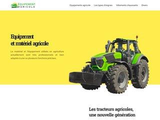 Les équipements agricoles