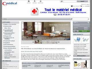 Cmedical: Vente de produits médicaux en ligne