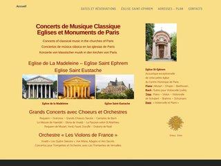 L'annuaire des concerts de musique classique