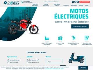 Moto électrique Calais