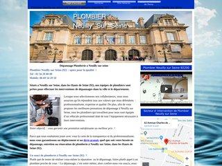 Services plombier de Neuilly / seine