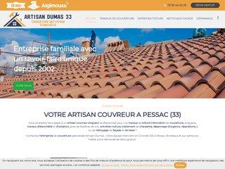 Couvreur-zingueur : Artisan Dumas à Pessac (33)