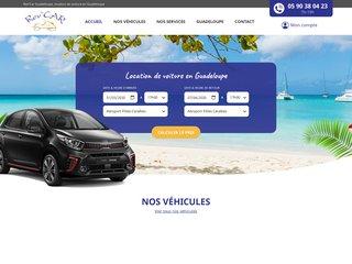 Location de voiture aéroport Guadeloupe - Rev'car