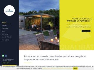 JCM Menuiserie, portails et pergolas en Auvergne