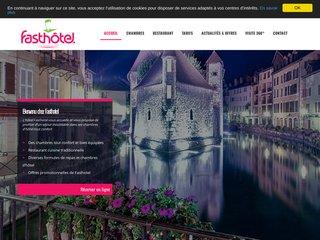 Hôtel restaurant 2 étoiles à Annecy