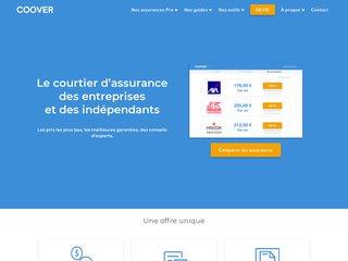 Coover⎟ Courtier en ligne d'assurances pour les entreprises et indépendants