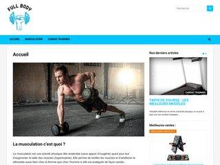Full body - Comparatif matériel & appareil de sport
