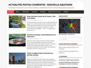 Poitou charentes, les actualités Nouvelle-Aquitaine