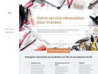 Service de rénovation sur La Roche-sur-Yon