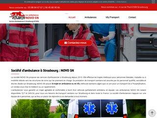 NOVO SN - Ambulance dans le 67