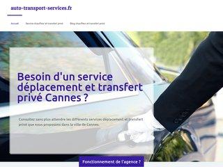 Transport privé à Cannes