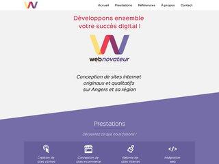 Agence web de conception de sites internet à Angers