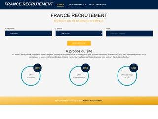 Moteur de recherche d'emploi en France