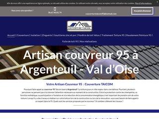 Artisan Couvreur 95
