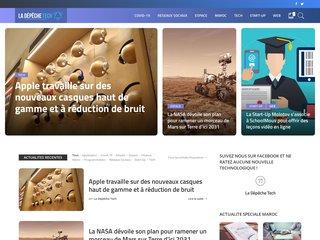 La Dépêche Tech : Site d'actualité technologique au Maroc