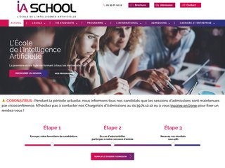 IA SCHOOL : L'école de l'intelligence artificielle