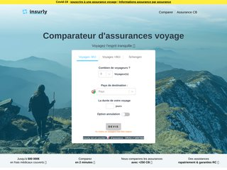 Comparateur d'assurances voyage
