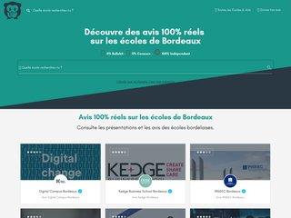 Site pour bien choisir son école à Bordeaux