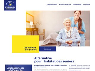 Senior, habitat, immobilier