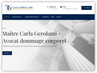 Carla GEROLAMI, avocat accident