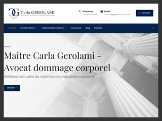 Carla GEROLAMI, avocat accident