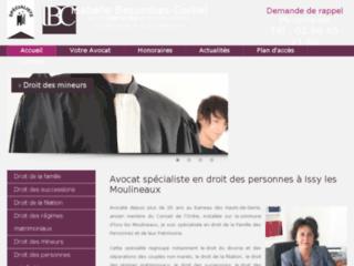 Consultez le site de Maître Isabelle Besombes-Corbel