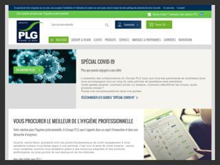 Groupe PLG : materiel de nettoyage professionnel