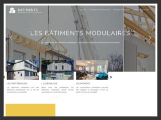 Bâtiments modulaires économiques