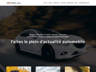 L'actualité automobile sur Teste Auto