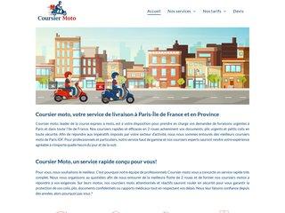 Coursier moto Paris Ile de France