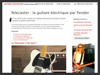 Guitare Electrique Telecaster : le site de référence