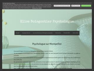 Elise Boisgontier Psychologue