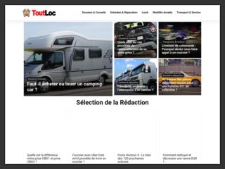 ToutLoc, site d'information sur l'automobile
