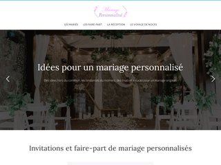 Idées originales et personnalisées pour un mariage de rêve
