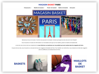 Magasin basket ball