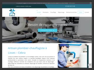 Cebra pour votre  réparation fuite d'eau  à Paris