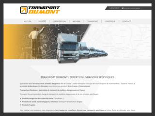 Transport Dumont, expert en livraisons spécifiques