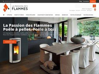 La Passion des Flammes : poêle à pellet et à bois