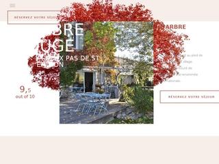 L'Arbre Rouge, Chambres d'hotes de luxe à Saint Emilion