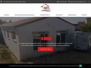 travaux de construction de maisons Trouillas