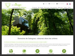 Cabanes dans les arbres au Domaine de Salagnac Nouvelle Aquitaine