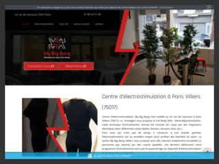 Salle de sport d'electrostimulation à Paris 17