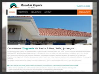 Couverture Zinguerie du Béarn, votre Couvreur sur Pau, Artix, Jurançon et leurs alentours