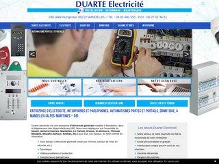 Duarte électricité Alpes Maritimes