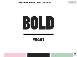 Bold - Cabinet d'Avocats pour Entrepreneurs