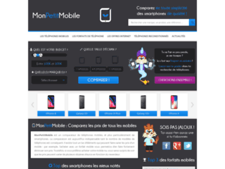 Site web comparateur de téléphones mobiles