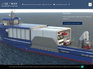 entreprise de transport maritime Morbihan