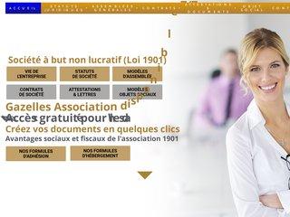 Gazelles Association France : SA (société anonyme)
