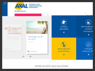 AXAL - Déménagement et Transport en Alsace